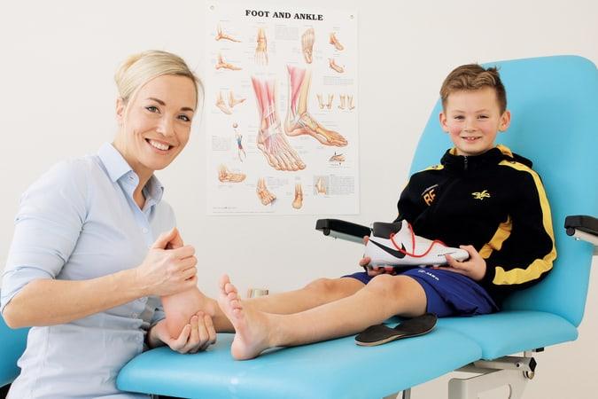 podotherapie veld schoentechniek